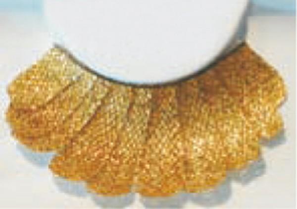 Wimpern, Goldene Federn