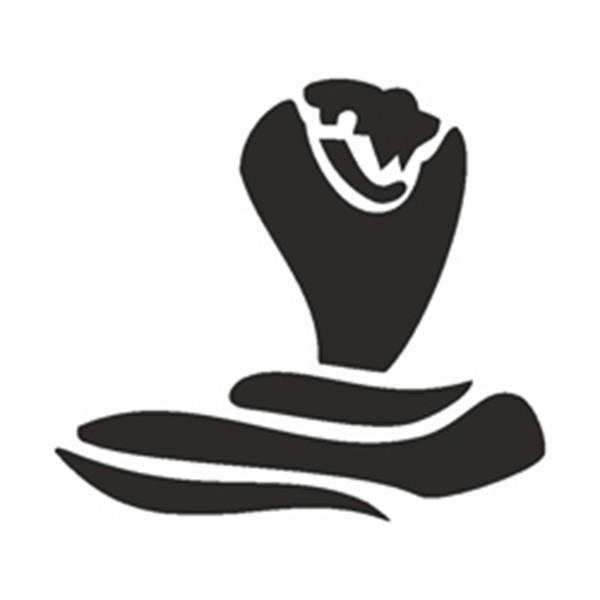 Selbstklebe Schablone - Kobra
