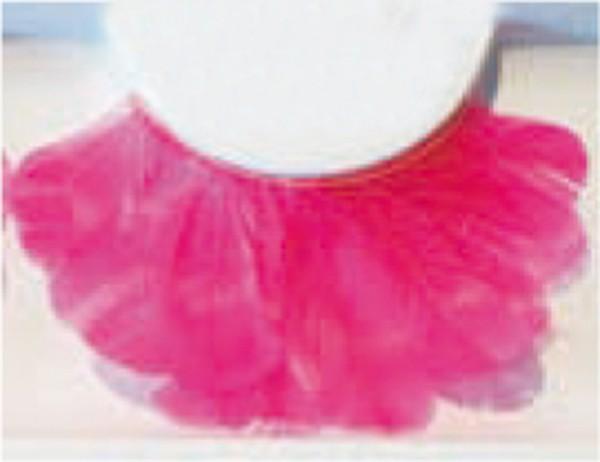 Wimpern, Federn Pink