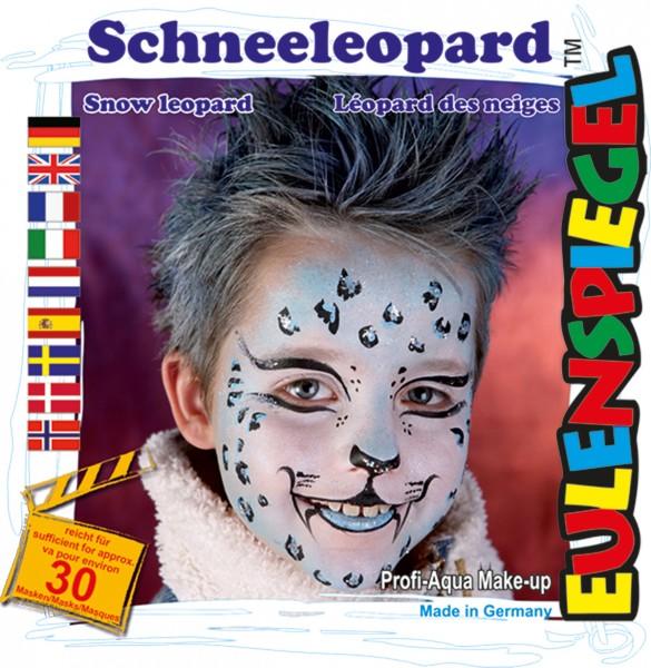 Motiv-Set Schneeleopard