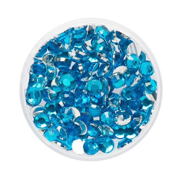 Glitzer-Steine Aquamarine 2,5g