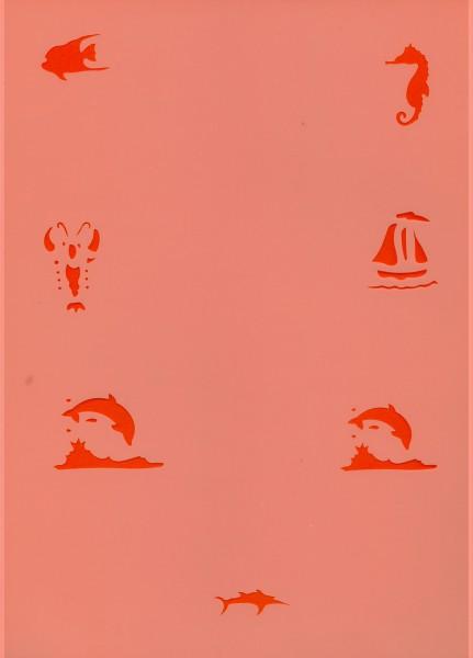 Tattoo Schablone - Sea-Animal