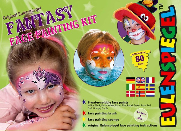 Fantasy Face Painting Kit