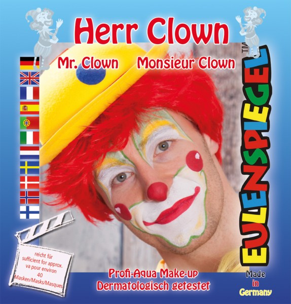 Motiv-Set Herr Clown