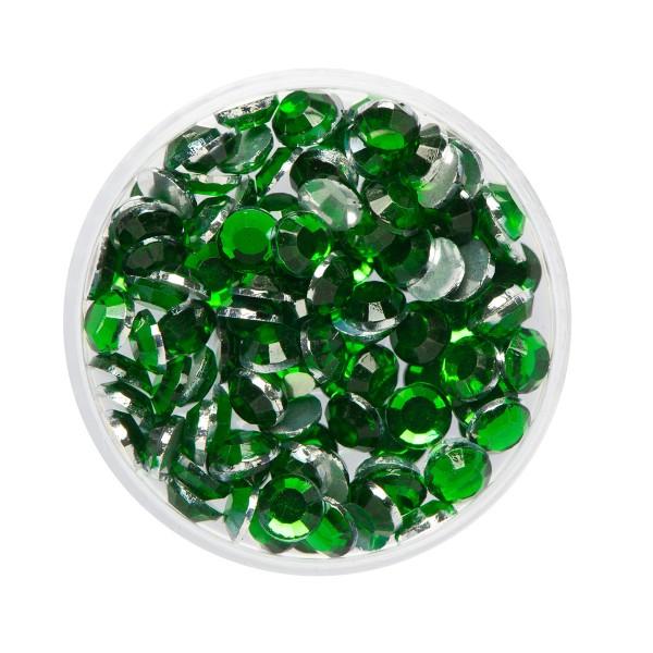 Glitzer-Steine Smaragd 2,5g