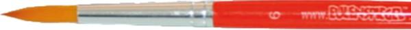 Rundpinsel, Gr.: 6, hellrot