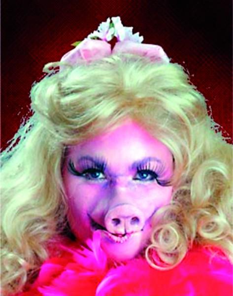 Latex-Maske Schweinchennase