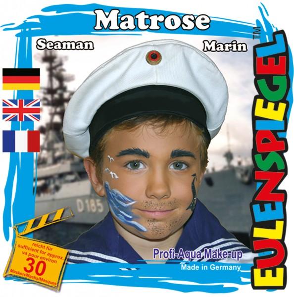 Motiv-Set Matrose