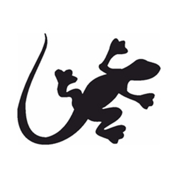 Selbstklebe Schablone - Salamander