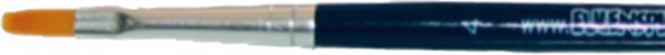 Flachpinsel, Gr. 4, blau