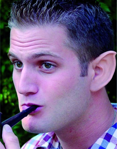 Latex-Maske Koboldohren