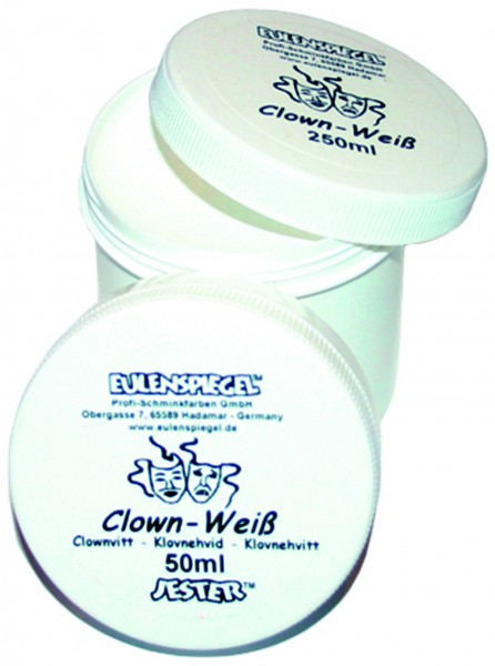 Clown-Weiß, 50 ml
