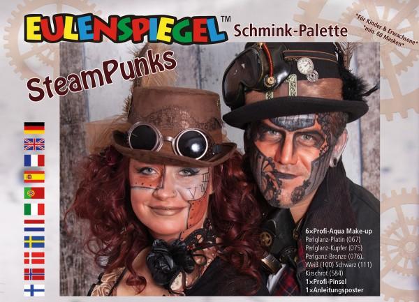 SteamPunks - Schminkpalette mit Anleitung