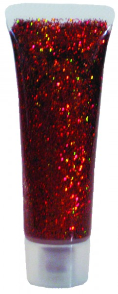 Glitzer-Gel Orange-Juwel, 18ml