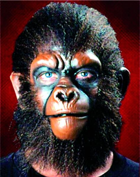 Latex-Maske Affenohren