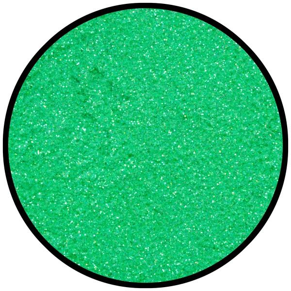 Frosted-Green (fein), 6g Tattoo-Glitzer