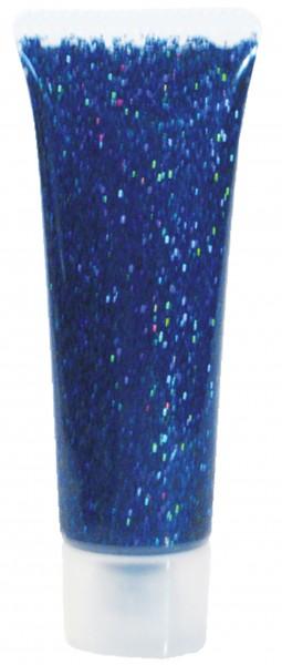 Glitzer-Gel Blau-Juwel, 18ml
