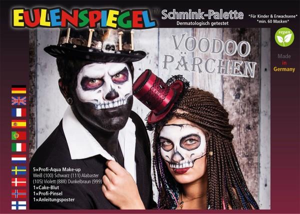 VoodooPärchen - Schminkpalette mit Anleitung