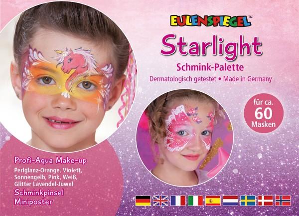 Starlight - Schminkpalette mit Anleitung