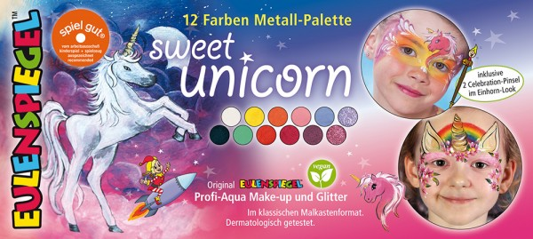 Sweet Unicorn Metall-Palette