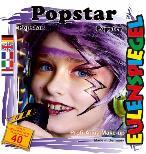 Motiv-Set Popstar