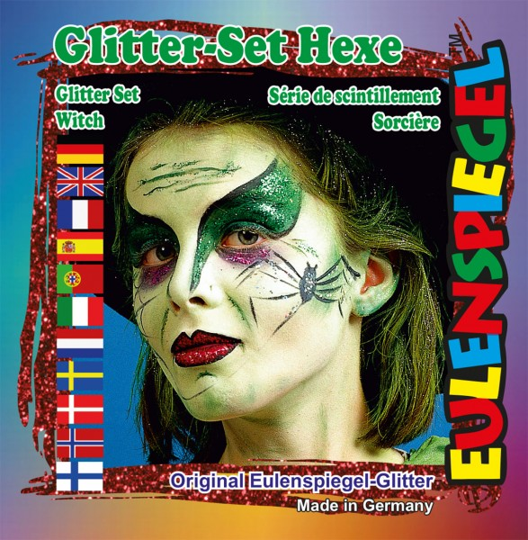 Glitzer Set Hexe