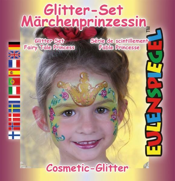 Glitzer Set Märchen-Prinzessin