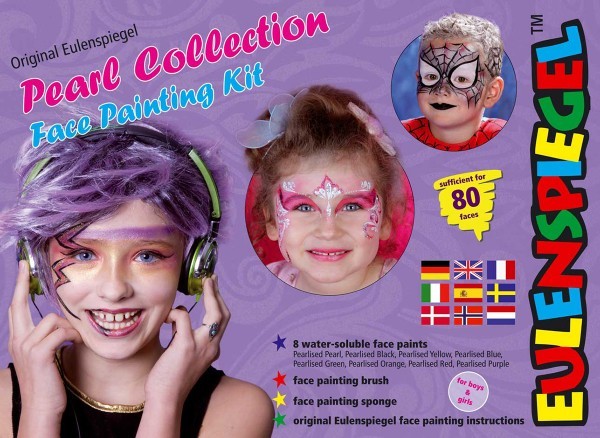 Pearl Collection Face Painting Kit