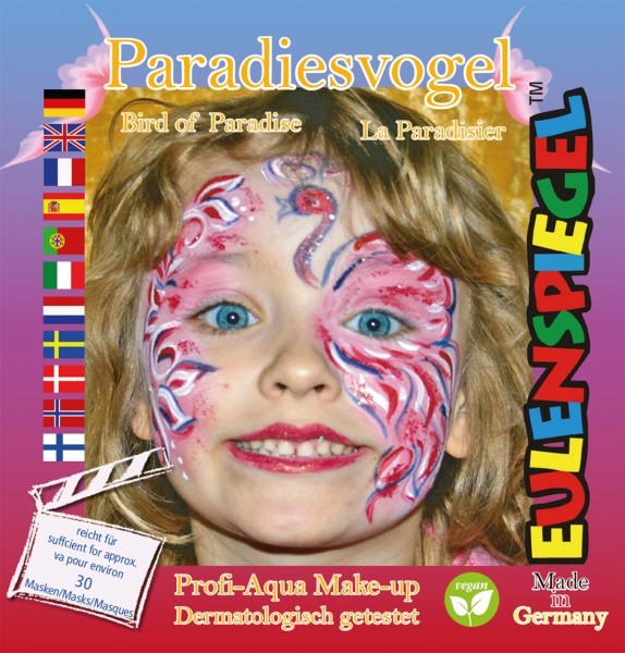 Motiv-Set Paradies-Vogel