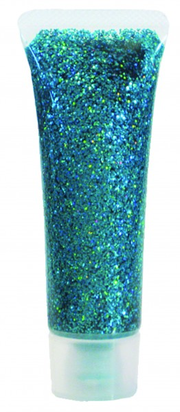 Glitzer-Gel Grün-Juwel, 18ml