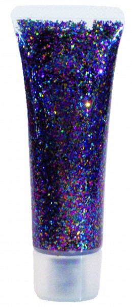 Glitzer-Gel Multicolor, 18ml