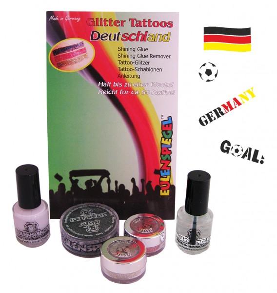 Glitzer Tattoo-Set Deutschland