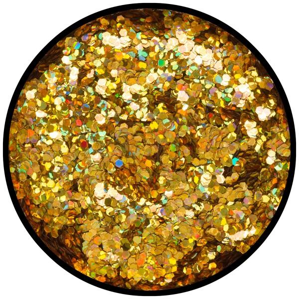 Gold-Juwel (grob), 2g Glitzer