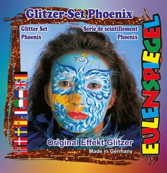 Glitzer Set Phoenix