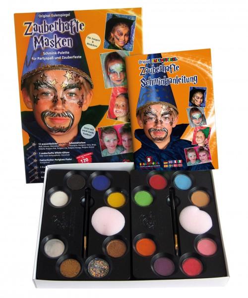Zauberhafte Masken-Palette