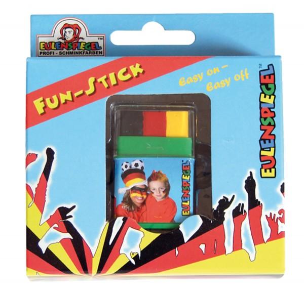 Fun-Stick (Schwarz/Rot/Gelb) Jumbo