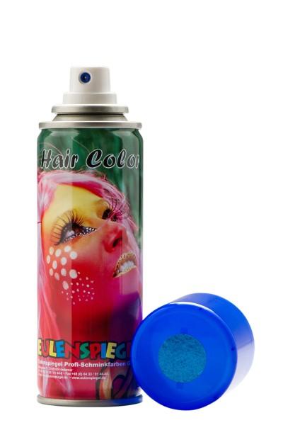 Glitzer Haarspray Blau