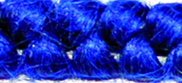 Wollkrepp Blau