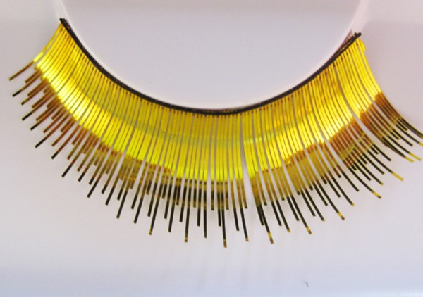 Wimpern, Gold
