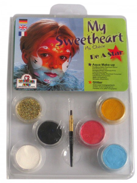 My Sweetheart -Schminkpalette mit Anleitung