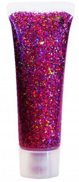 Glitzer-Gel Pink-Juwel, 18ml