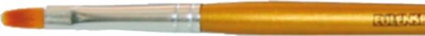 Pinsel (Katzenzunge), Gr.: 4, gold