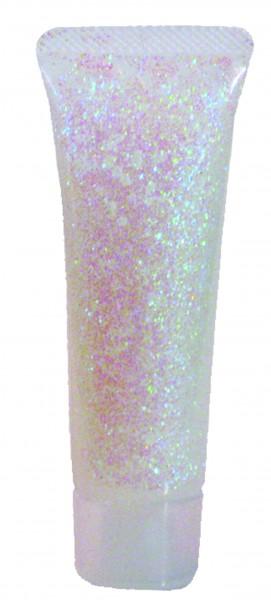 Glitzer-Gel Perlmutt (irisierend), 18ml