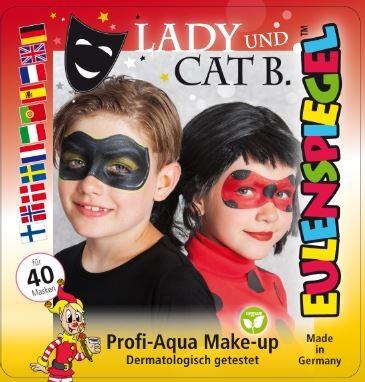Motiv Set Lady & Cat B.