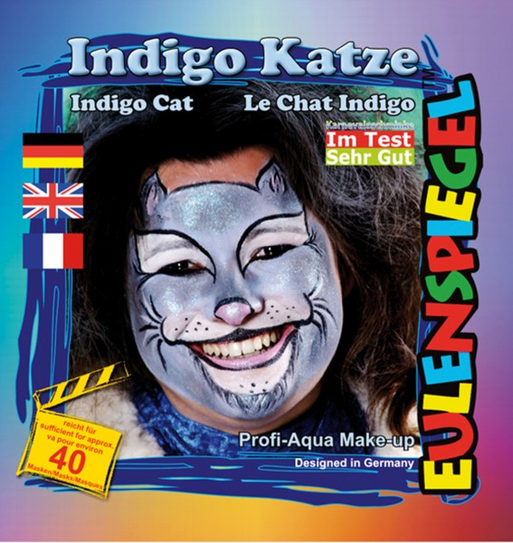 Motiv-Set Indigo Katze