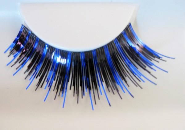Wimpern, Schwarz/Blau