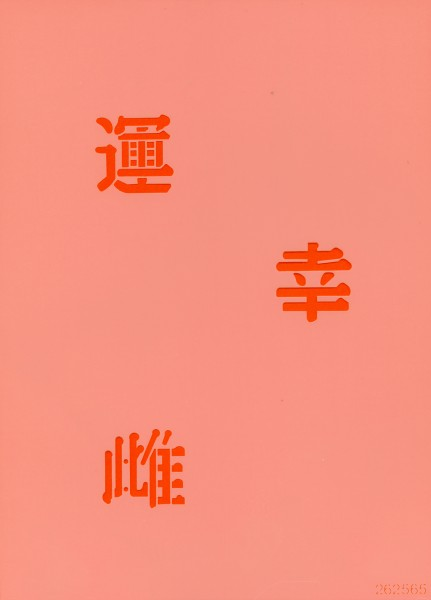 Tattoo Schablone - Chinese Characters II