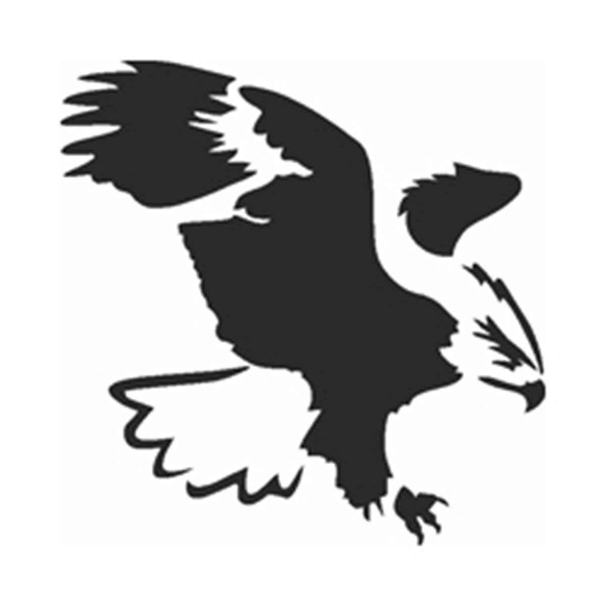 Adler Schablone