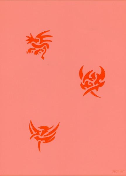 Tattoo Schablone - Mystik