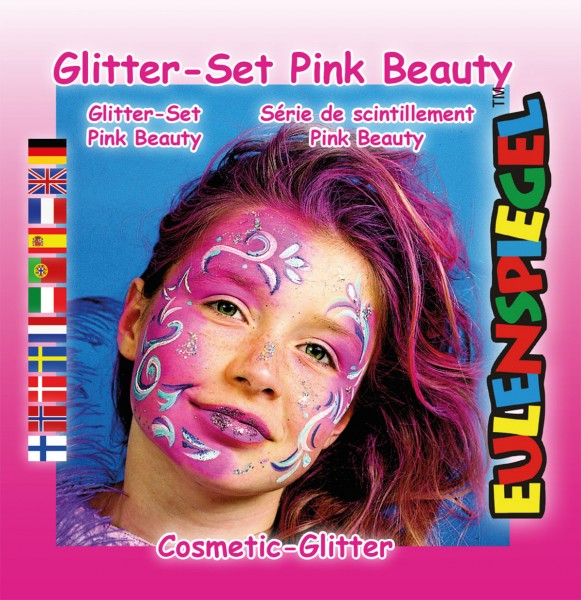 Glitzer Set Pink Beauty